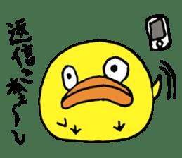Chick Tomochan sticker #1235851