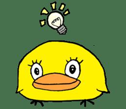 Chick Tomochan sticker #1235867