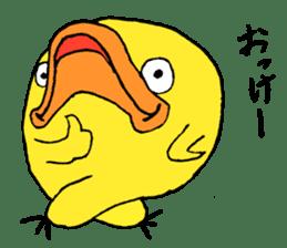 Chick Tomochan sticker #1235874
