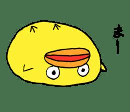 Chick Tomochan sticker #1235878