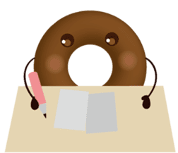 lovely donut sticker #1237996
