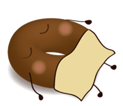 lovely donut sticker #1237997