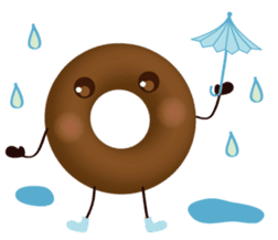 lovely donut sticker #1237998