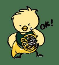 Wind Orchestra PIYOTAN sticker #1238013