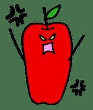long apple sticker #1238424