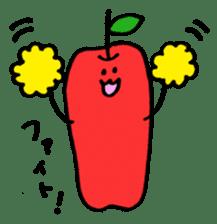long apple sticker #1238425