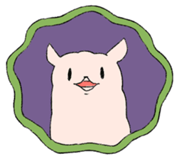 innocent alpaca. sticker #1239003