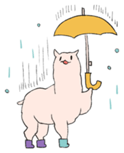 innocent alpaca. sticker #1239040
