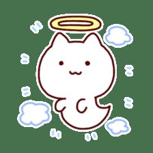 cat angel sticker #1240203