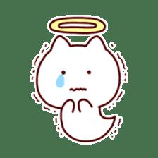 cat angel sticker #1240214
