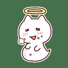 cat angel sticker #1240215