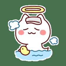 cat angel sticker #1240217