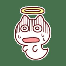 cat angel sticker #1240218