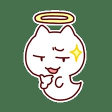 cat angel sticker #1240221
