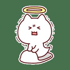 cat angel sticker #1240225