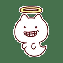cat angel sticker #1240227