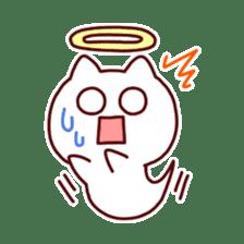 cat angel sticker #1240230