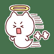 cat angel sticker #1240237