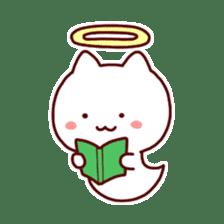 cat angel sticker #1240240