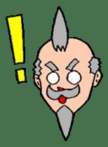Funky grandpa sticker #1245276