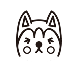 """Otsuka's dog """"Sera"""" sticker #1245969"""