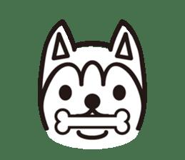 """Otsuka's dog """"Sera"""" sticker #1245981"""