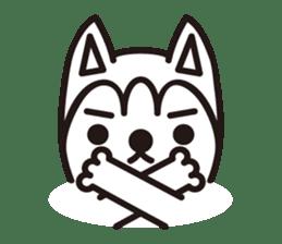"""Otsuka's dog """"Sera"""" sticker #1245986"""