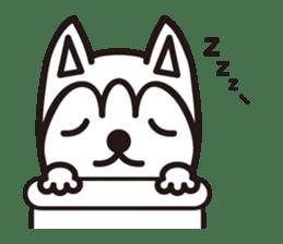 """Otsuka's dog """"Sera"""" sticker #1245989"""