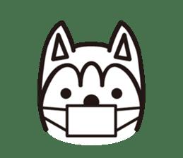 """Otsuka's dog """"Sera"""" sticker #1245991"""