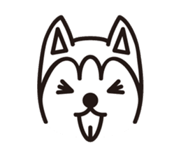 """Otsuka's dog """"Sera"""" sticker #1246001"""
