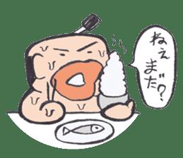 Sweat Samurai sticker #1246522