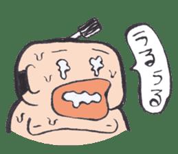 Sweat Samurai sticker #1246535