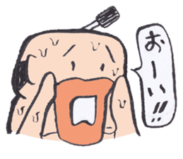 Sweat Samurai sticker #1246537