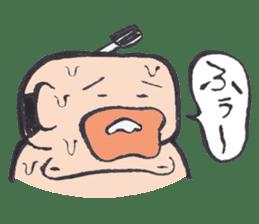 Sweat Samurai sticker #1246540