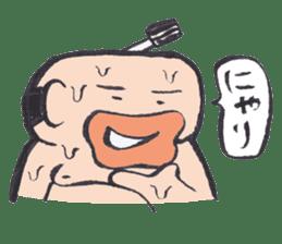 Sweat Samurai sticker #1246541