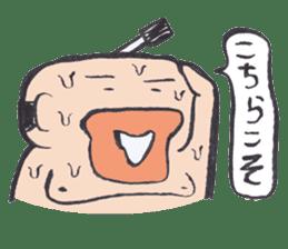 Sweat Samurai sticker #1246548