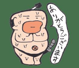 Sweat Samurai sticker #1246551