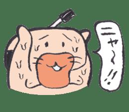Sweat Samurai sticker #1246557