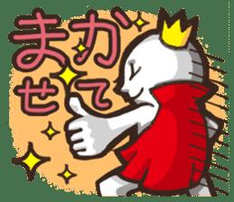 Always a Cheerful-King! sticker #1249208