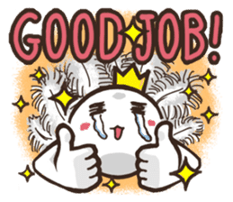 Always a Cheerful-King! sticker #1249221