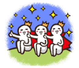 Always a Cheerful-King! sticker #1249227
