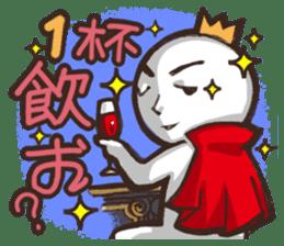 Always a Cheerful-King! sticker #1249228