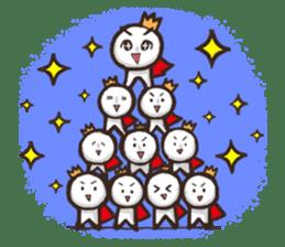 Always a Cheerful-King! sticker #1249238