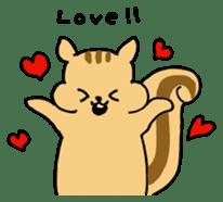 Shi-chan of chipmunk English version sticker #1254169