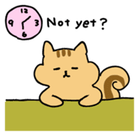 Shi-chan of chipmunk English version sticker #1254171