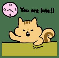 Shi-chan of chipmunk English version sticker #1254172