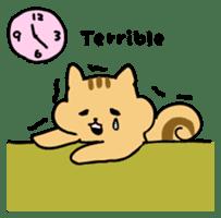 Shi-chan of chipmunk English version sticker #1254173