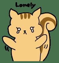 Shi-chan of chipmunk English version sticker #1254179