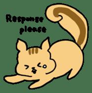 Shi-chan of chipmunk English version sticker #1254180