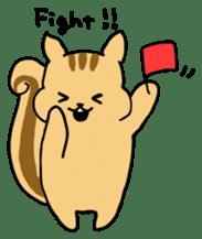Shi-chan of chipmunk English version sticker #1254182